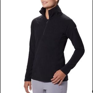 Columbia Black Fleece Quarter Zip Pullover